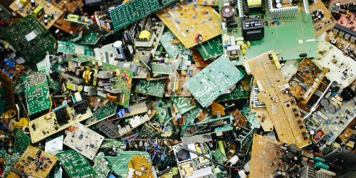 E-waste recycling.
