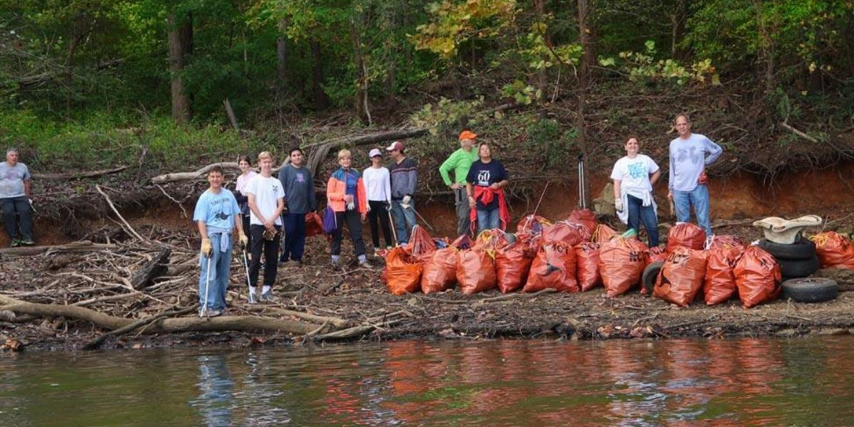 Clean Jordan Lake Fall Cleanup