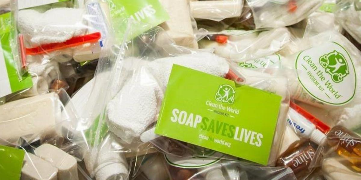 Clean the World Hygiene Kit with Recycled Soap