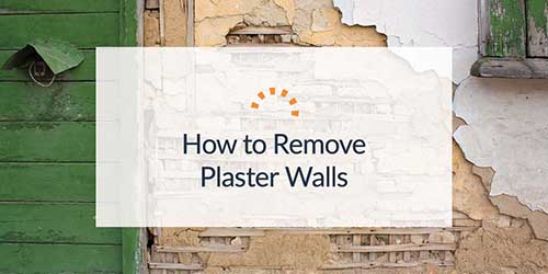 A Crumbling Plaster Wall With Exposed Lath.