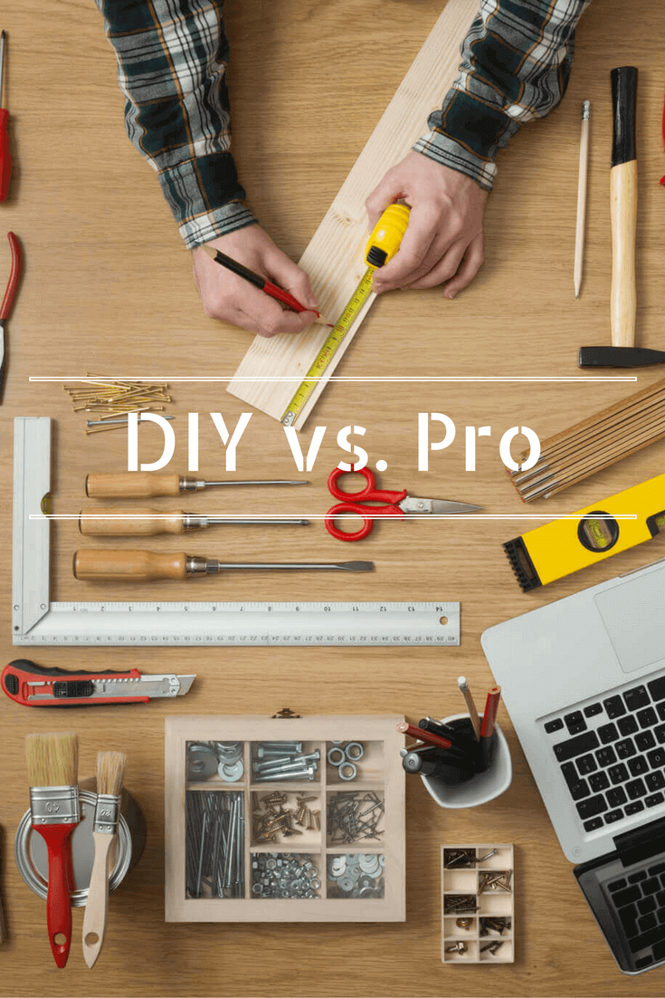 DIY home improvement can save yourself some money, but when it comes to certain projects you are better of calling a professional. Learn which home projects you can easily DIY and which ones you should probably call for help with.