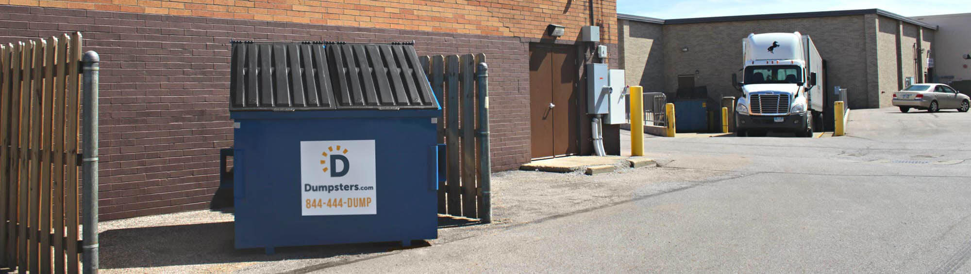 dumpsters for retailers