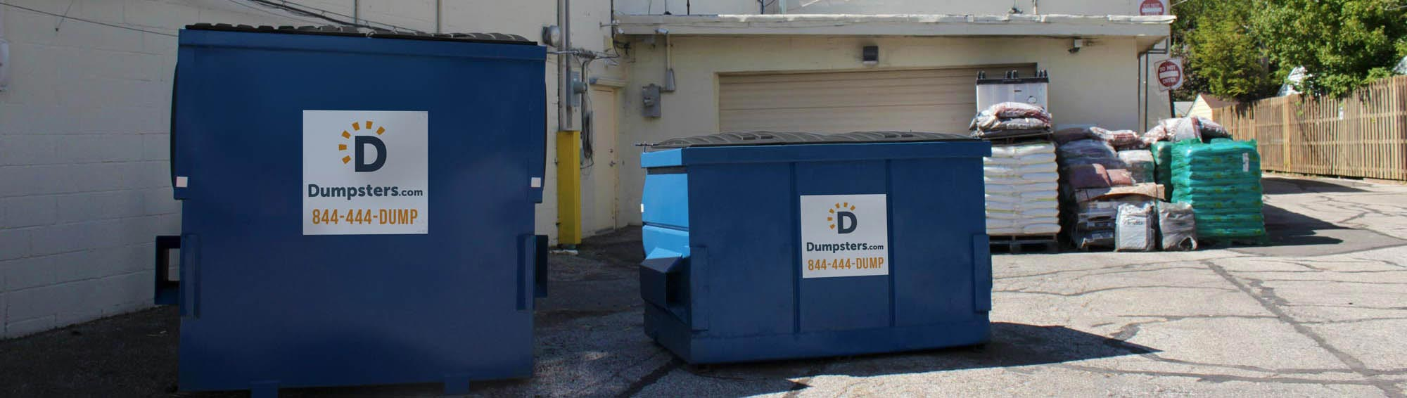 dumpsters for restaurants and grocery stores
