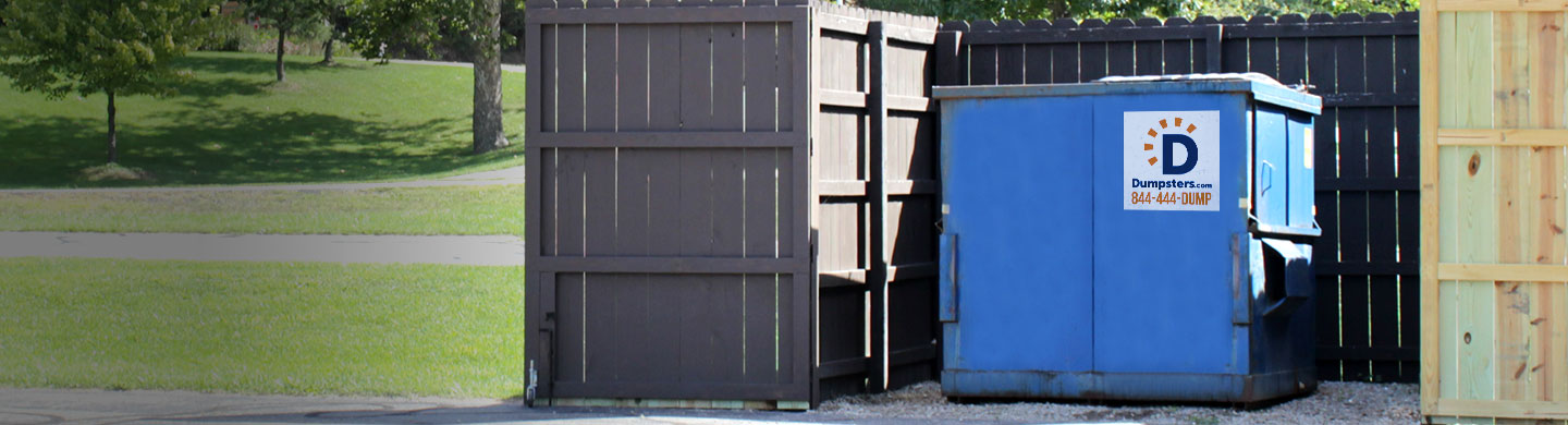 Commercial container for government waste management.