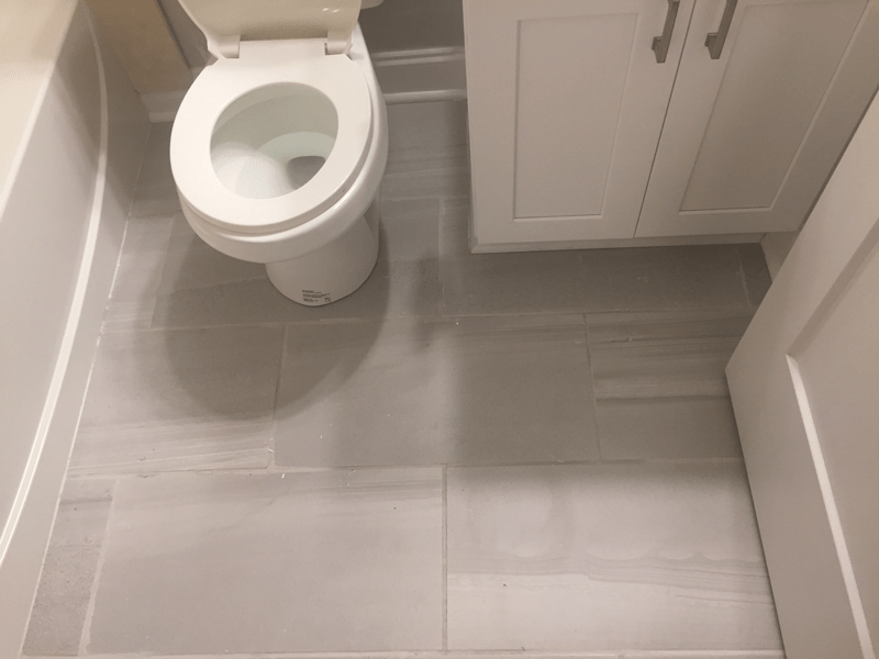 How to Install a Tile Floor in Your Bathroom | Dumpsters.com