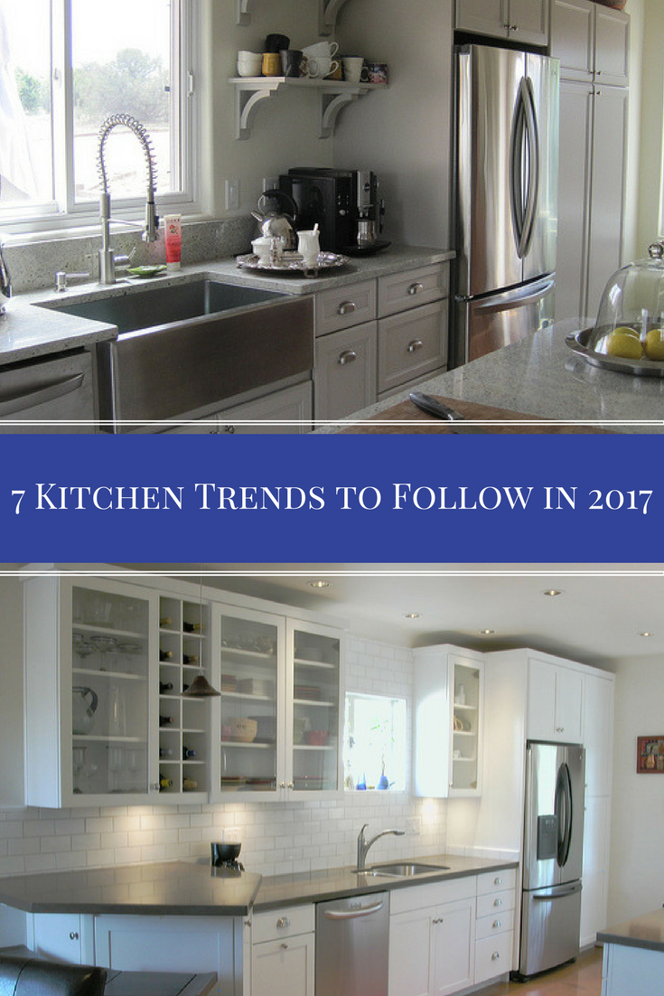 Planning a kitchen remodel in 2017? We've tracked down the top seven design trends for this year that will give your brand-new kitchen a touch of modern utility and aesthetic beauty.